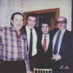 с Таиром Рошидом и Кемалом
