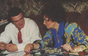Во время съёмки передачи Святослава Бэлзы 1998  год