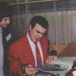 в гримёрке после концерта 1995 год