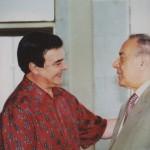 с Гейдаром Алиевым