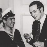 Встреча с военными моряками