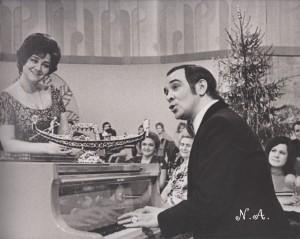 """Тамара Синявская и Муслим Магомаев """"Голубой огонёк"""" 1974 год"""
