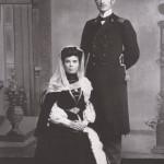 Муслим Магомаев (старший) с женой Байдигюль Терегуловой
