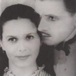 Магомет Магомаев с женой Айшет Хинжаловой (Кинжалова)