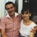 с дочкой Мариной