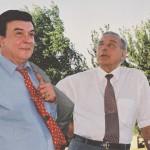 на правительственной даче у Гейдара Алиева