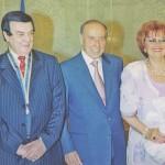 Награждение  Орденом «Независимость»