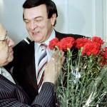 на открытии Центра оперного пения Галины Вишневской. 2002 год