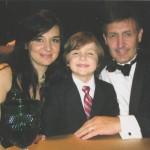 Дочь Муслима Магомаева Марина мужем и сыном