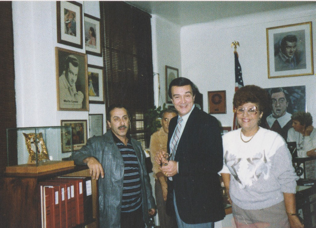 Муслим Магомаев в музее Марио Ланца