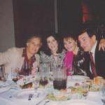 Муслим Магомаев в США с дочерью Марио Ланца и её мужем