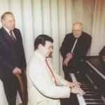 Муслим Магомаев Гейдар Алиев Мстислав Ростропович