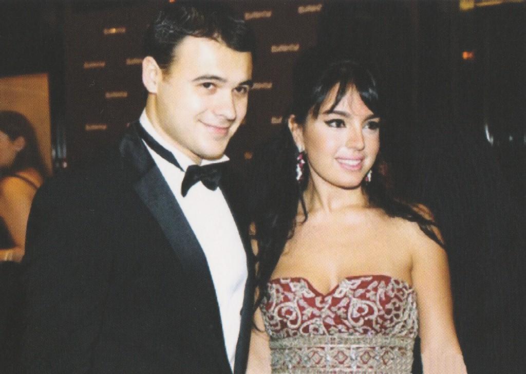 Лейла Алиева с мужем Эмином Агаларовым